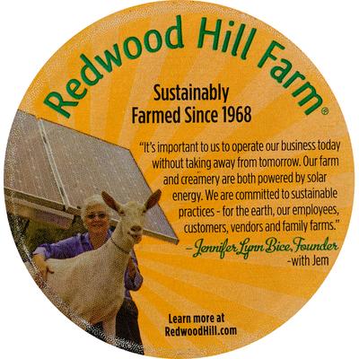 Redwood Hill Farm Yogurt, Goat Milk, Vanilla