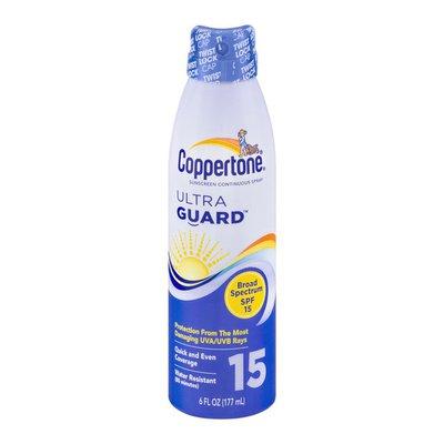 Coppertone Sunscreen Continuous Spray Ultra Guard SPF 15