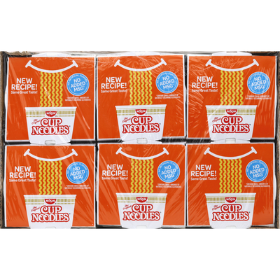 Nissin Soup, Ramen Noodle, Chicken Flavor, 6 Pack