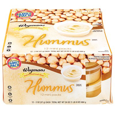 Wegmans Food You Feel Good About Hummus, FAMILY PACK