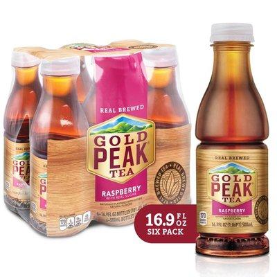 Gold Peak Raspberry Flavored Iced Tea Drink