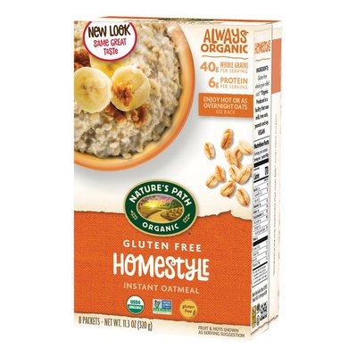 Nature's Path Homestyle Instant Oatmeal