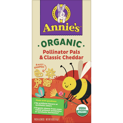 Annie's Organic Mac and Bees Macaroni and Cheese
