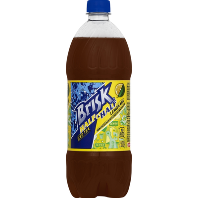 Brisk Half & Half Lemonade Iced Tea