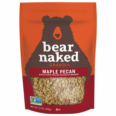 Bear Naked Granola, Non-GMO Project Verified and Kosher Dairy, Breakfast Snacks, Maple Pecan