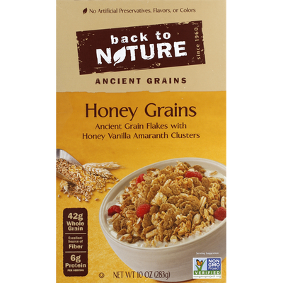 Back to Nature Cereal, Honey Grains