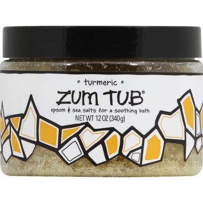 Zum Tub Bath Salts, Turmeric