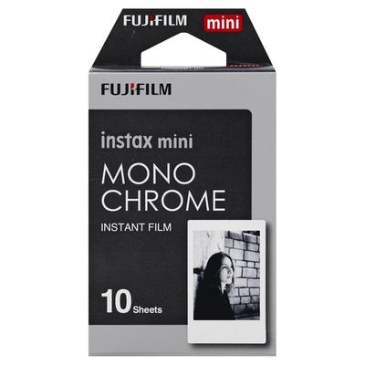 Fujifilm Instant Film, Mono Chrome, Instax Mini