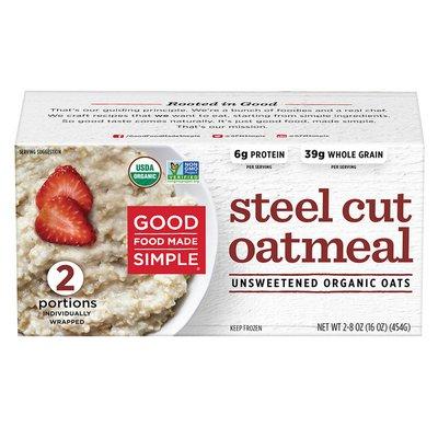 Good Food Made Simple Steel Cut Oatmeal