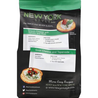 New York Style Roasted Garlic Bagel Chips