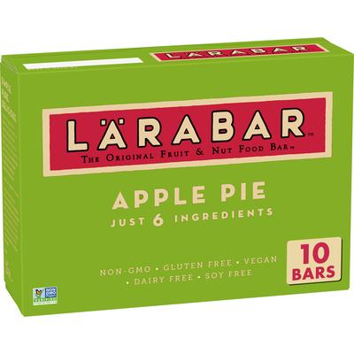 Larabar Gluten Free Bar, Apple Pie, Vegan, 10 Bars