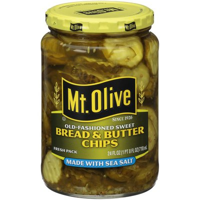 Mt. Olive Old-Fashioned Sweet Bread & Butter Chips