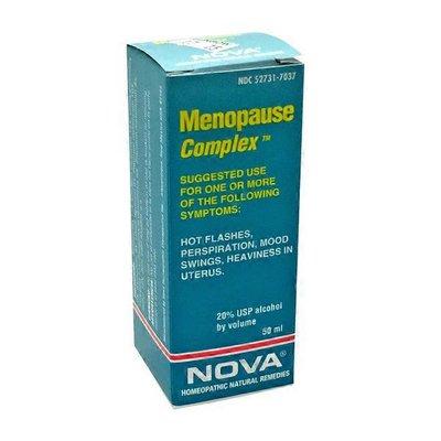 Nova Homeopathic Menopause Complex 50ml