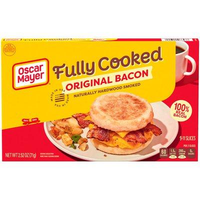 Oscar Mayer Fully Cooked Bacon