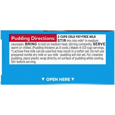 Jell-O Chocolate Sugar Free & Fat Free Pudding & Pie Filling Mix