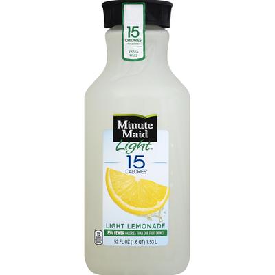 Minute Maid Lemonade, Light