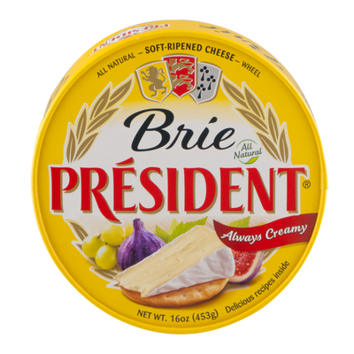 Président Brie Soft Ripened Cheese