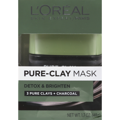 L'Oreal Pure-Clay Mask Detox & Brighten