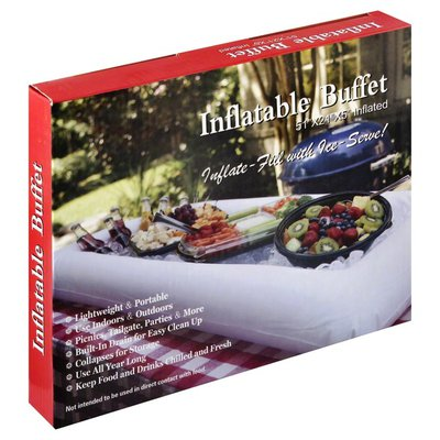 Na Buffet, Inflatable, 51 Inch x 24 Inch x 5 Inch