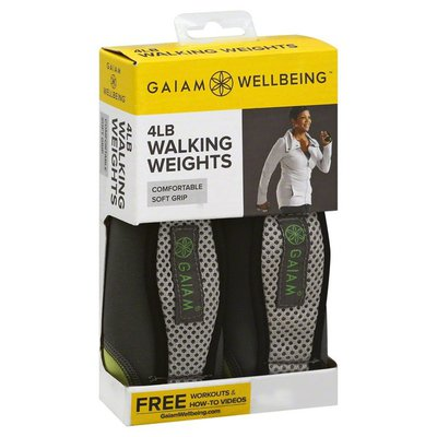 Gaiam Walking Weights, 4 Pounds