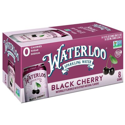 Waterloo Sparkling Water Black Cherry