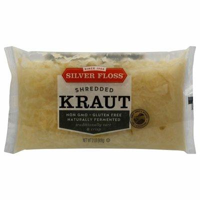 Silver Floss Sauerkraut, Barrel Cured