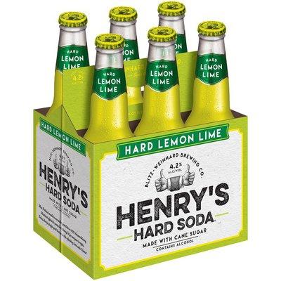 Henry'S Hard Soda Lemon Lime Hard Soda