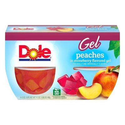 Dole Peaches in Strawberry Gel