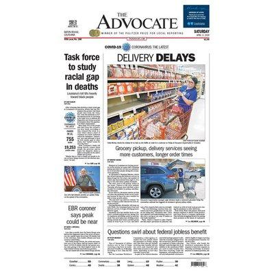 The Advocate Saturday Newspaper