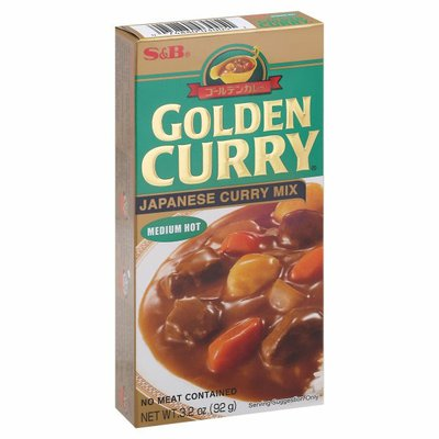 S&b Curry Mix, Japanese, Medium Hot