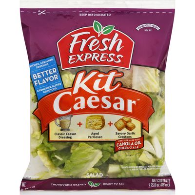 Fresh Express Salad Kit, Caesar