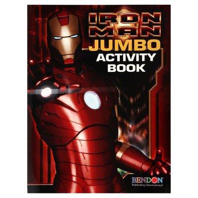 Bendon Activity Book, Jumbo, Iron Man