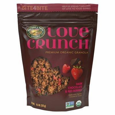 Nature's Path Love Crunch Dark Chocolate & Red Berries Granola