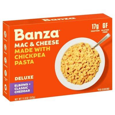 Banza Mac & Cheese, Elbows + Classic Cheddar, Deluxe