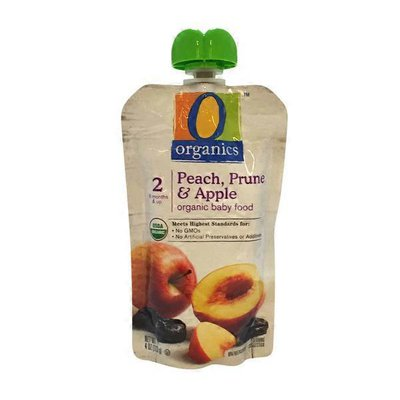 Organics Baby Food, Organic, Apple, Peach & Prune, Stage 2 (6 Months and Up)
