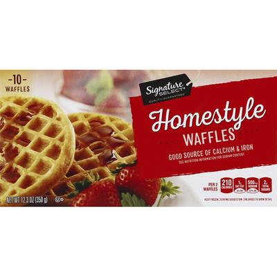 Signature Kitchens Waffles, Homestyle