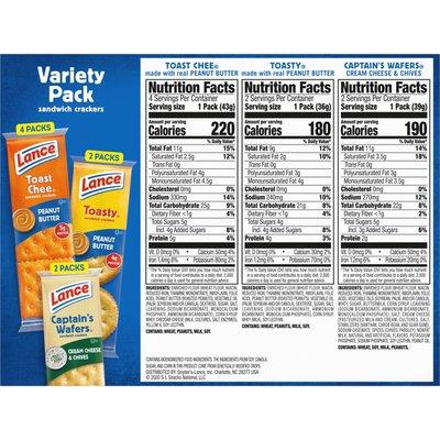 Lance® Cracker Sandwiches Variety Pack
