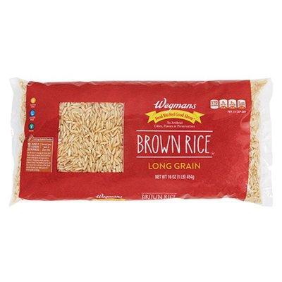 Wegmans Long Grain Brown Rice