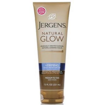 Jergens Natural Glow Firming Medium to Tan Skin Tones Daily Moisturizer