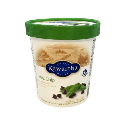 Kawartha Mint Chip Ice Cream
