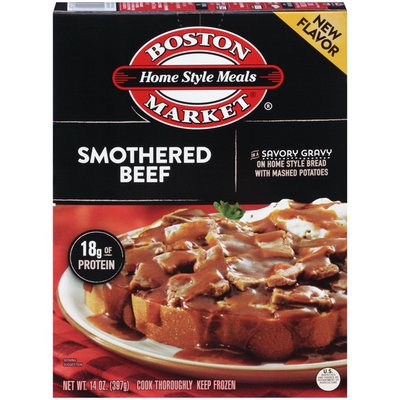 Boston Market Home Style Meals Smothered Beef