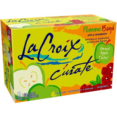 LaCroix Curate Pomme-Baya (Apple- Berry)