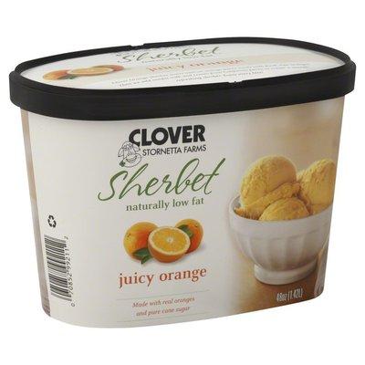 Clover Stornetta Sherbet, Juicy Orange