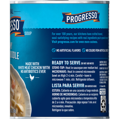 Progresso Traditional, Creamy Chicken Noodle Soup