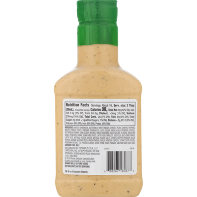 SB Dressing and Dip, Chipotle Ranch
