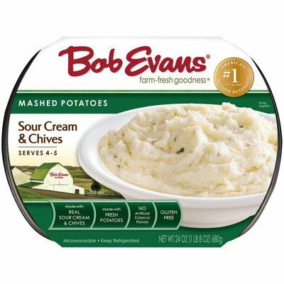 Bob Evans Farms Sour Cream & Chives Mashed Potatoes