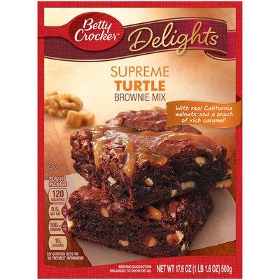 Betty Crocker Delights Supreme Turtle Brownie Mix