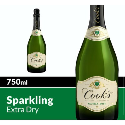 Cook's California Champagne California Champagne Extra Dry White Sparkling Wine