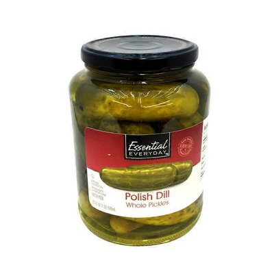 Essential Everyday Polish Dill Whole Pickles