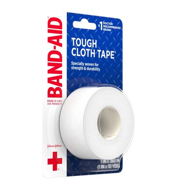 Band-Aid Brand Of First Aid Products Tough Cloth Tape, All Purpose
